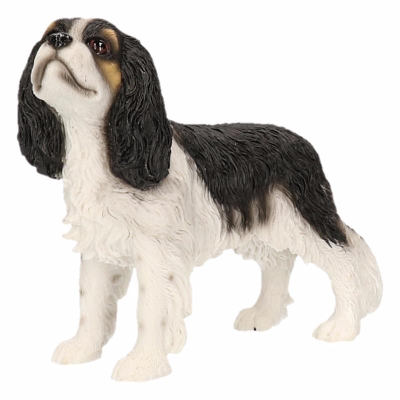 beeldje-cavalier-king-charles-zwart-wit-14-cm