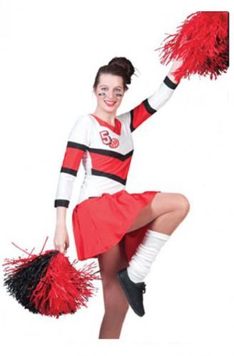 cheerleader-jurkje-rood-en-wit