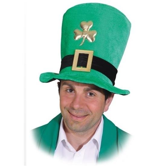 groene-hoge-hoed-sint-patricks-day