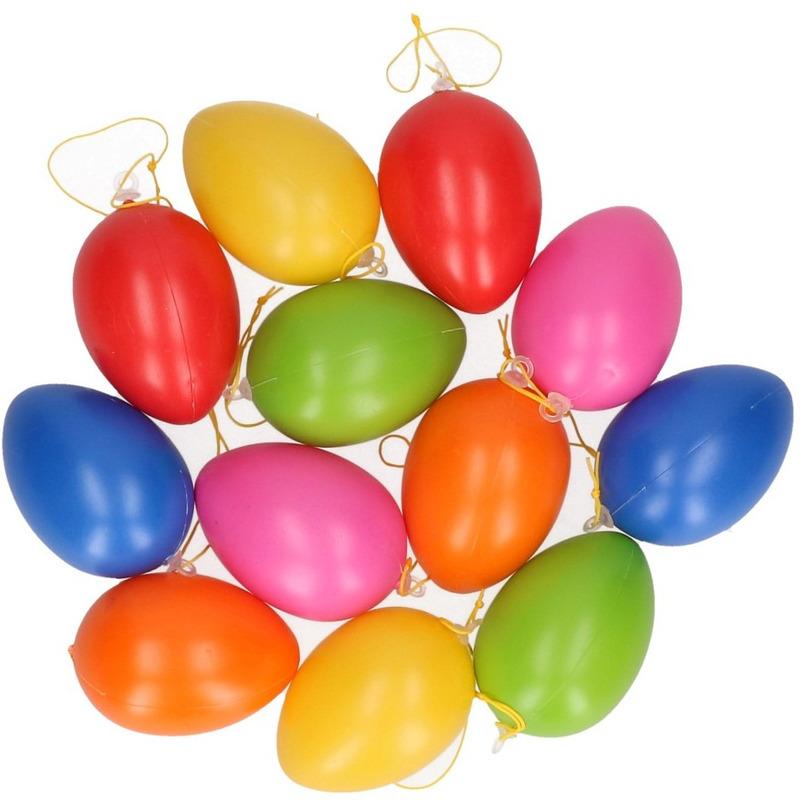 plastic-paasei-hangdecoratie-gekleurd-12-stuks