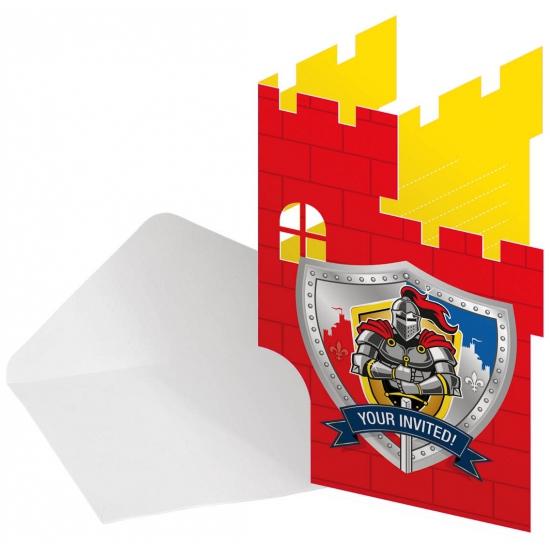 ridder-themafeest-uitnodigingen