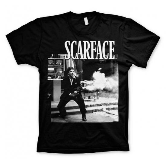 zwart-scarface-wanna-play-rough-t-shirt